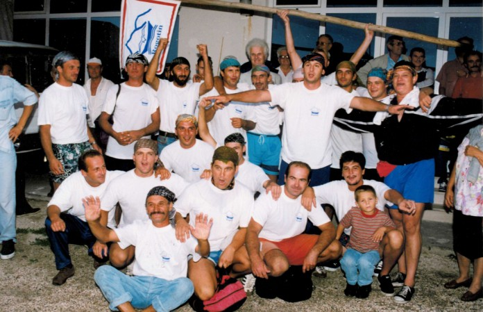 Rogotin / Prvi prvaci Maratona lađa